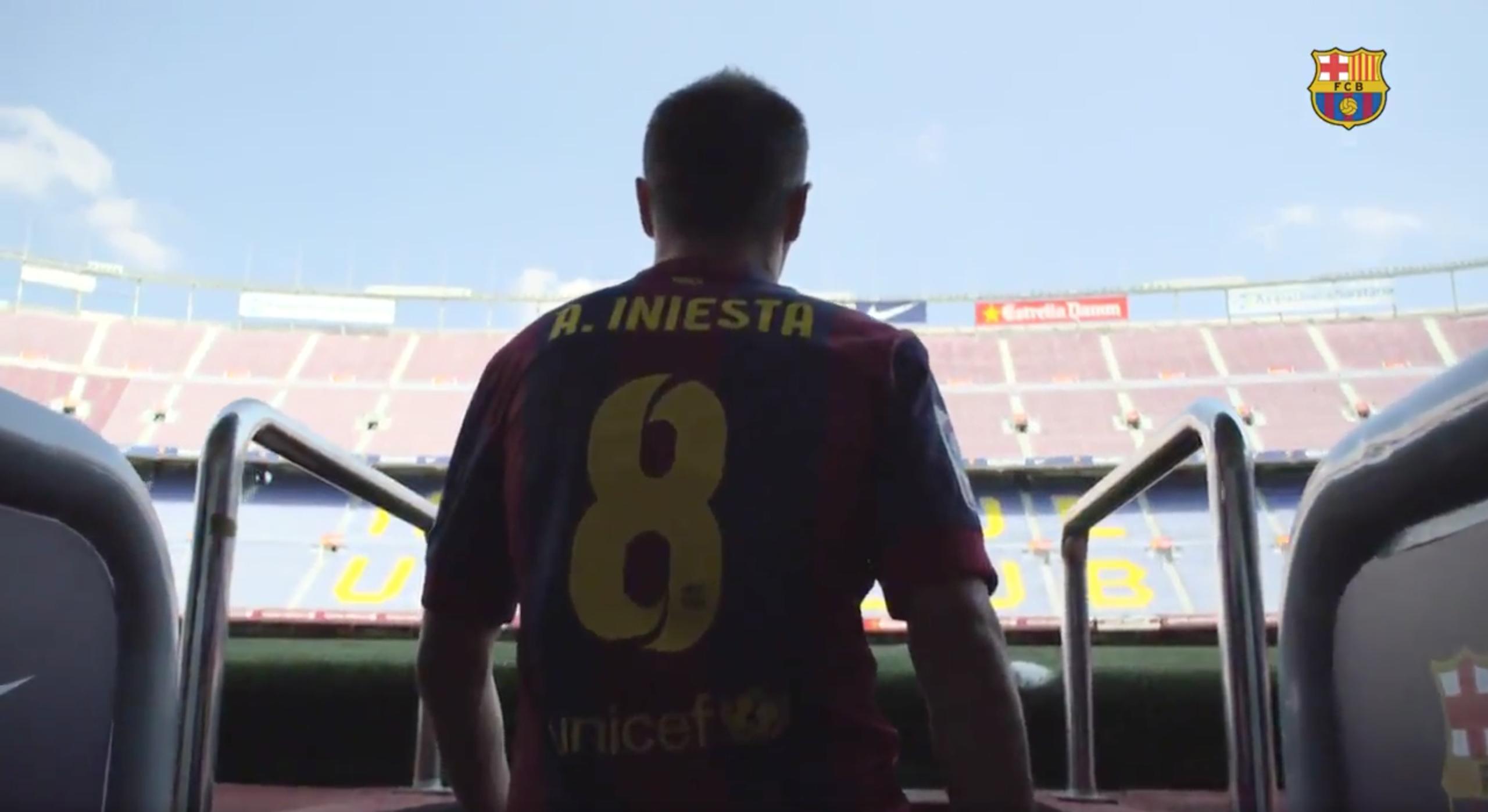 Iniesta Has Renewed His Barcelona Contract 'For Life'