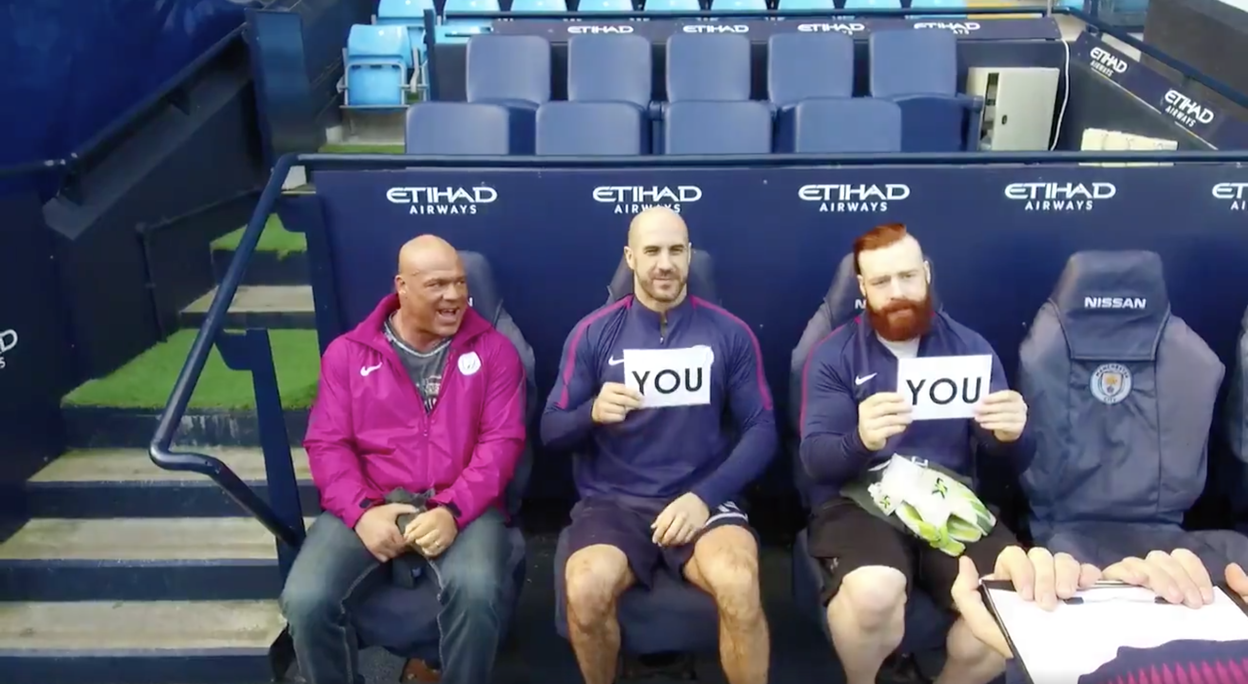 WATCH: Sheamus And Cesaro Test How Well They Know Eachother