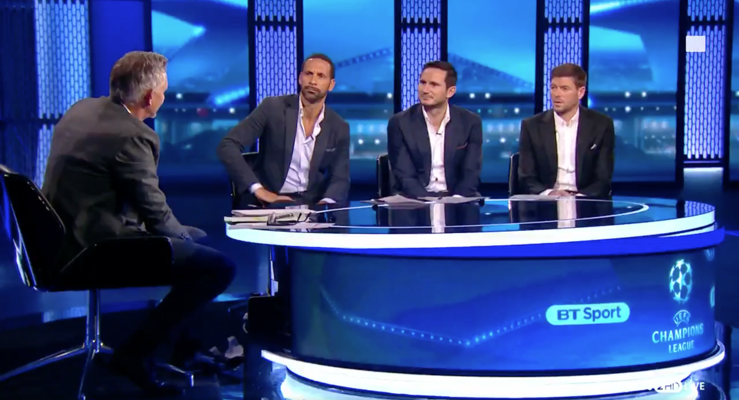 WATCH: Steven Gerrard's Amazing Response To Gary Lineker's Question About The 2006 Champions League