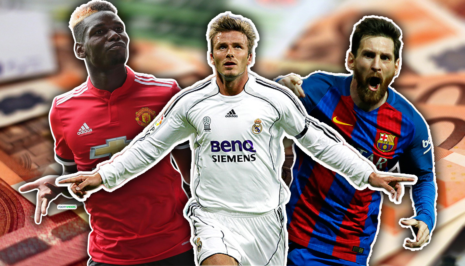Here's How 2007's Top 10 Best Paid Footballers Compare To 2017's