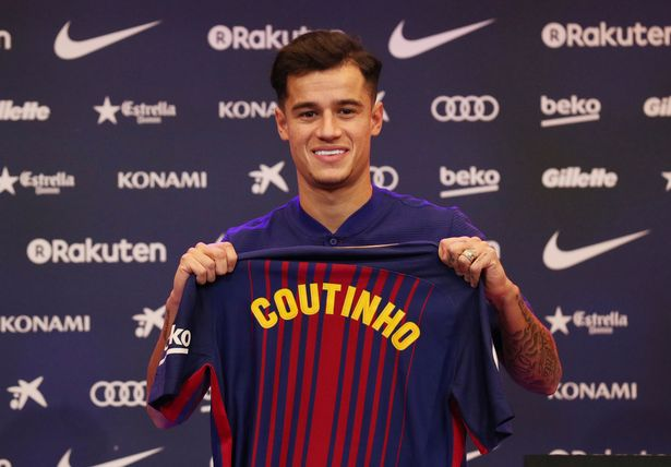 Philippe Coutinho's Barcelona Squad Number Has Been Revealed
