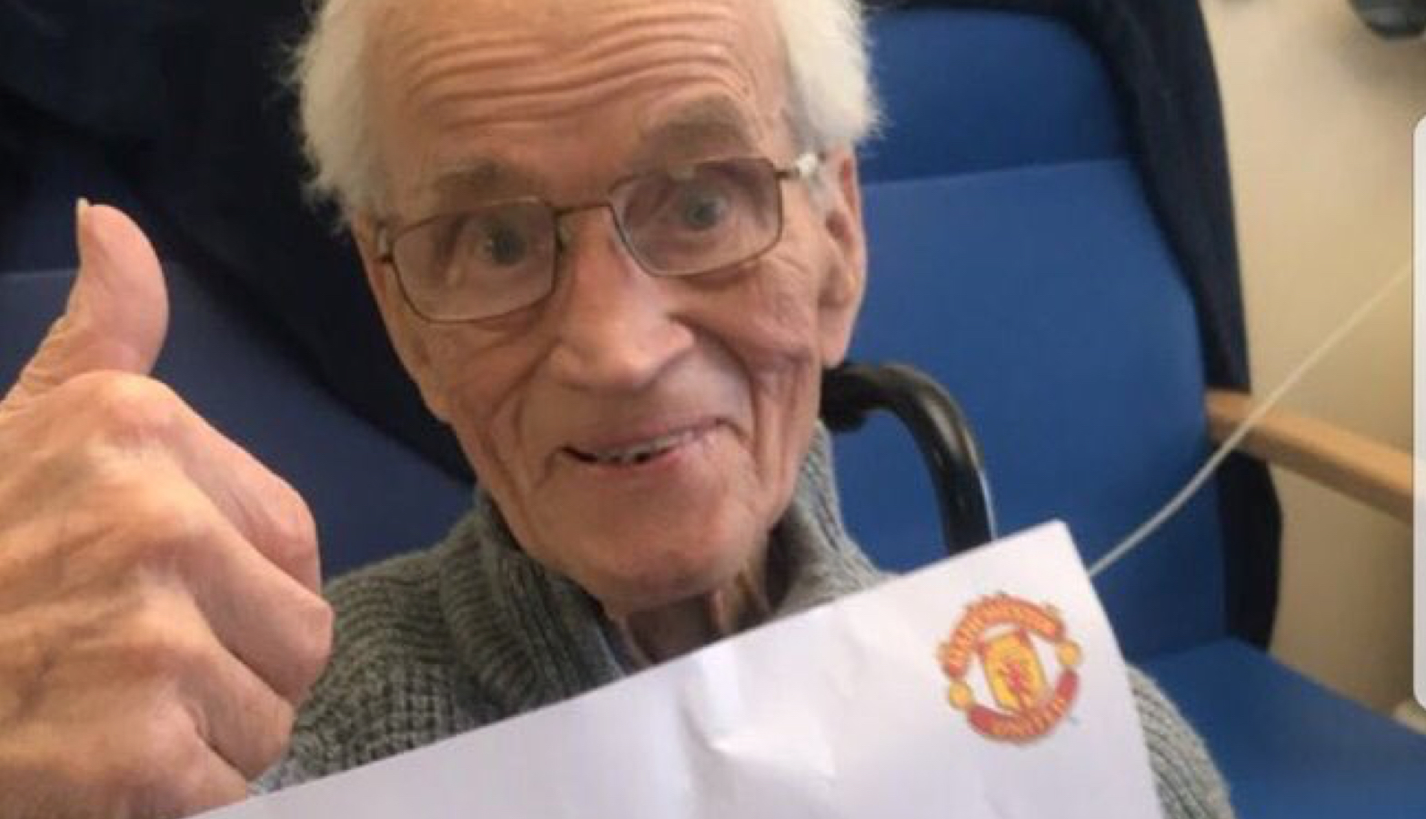 José Mourinho Sends Touching Letter To 94 Year Old Manchester United Fan