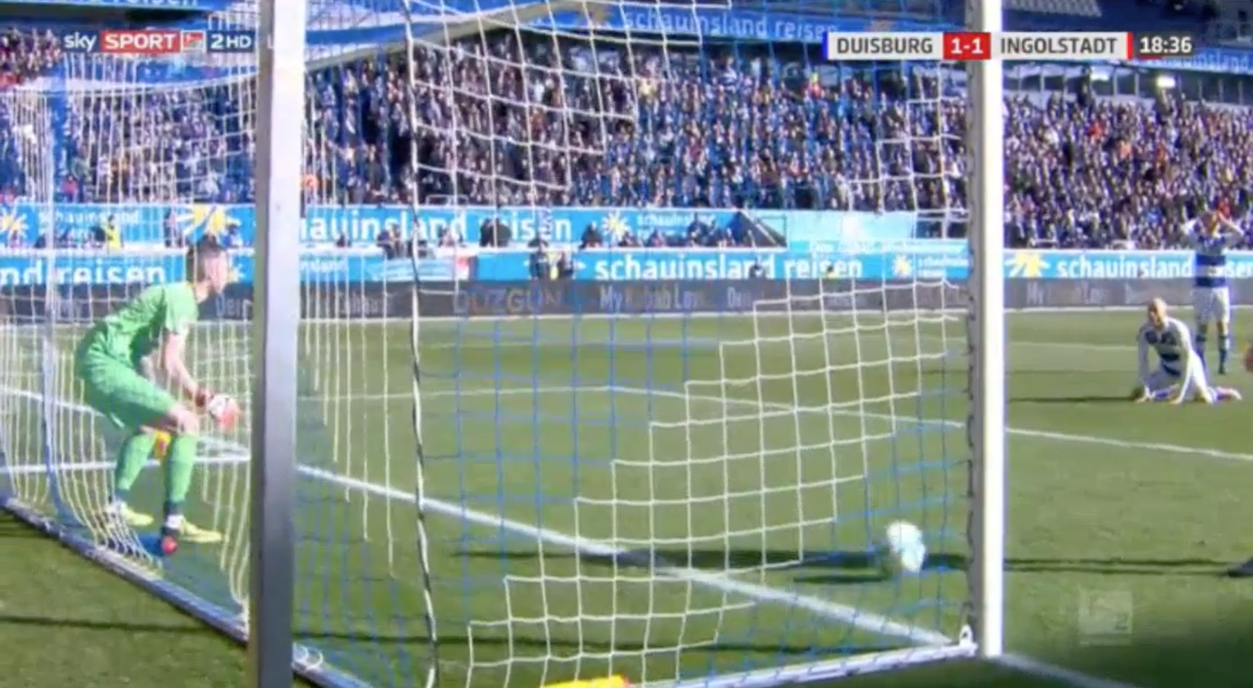 WATCH: The Funniest Goalie Fail Of All Time Has Just Happened In Germany