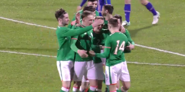 WATCH: Ireland U21s score magnificent team goal against Iceland
