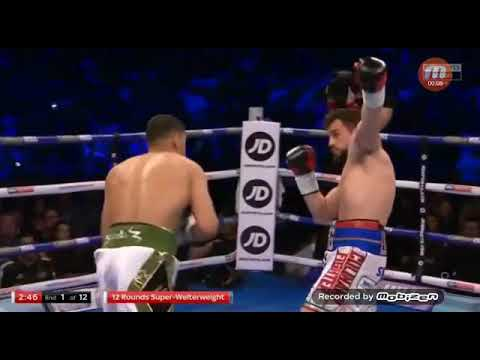 WATCH: Amir Khan Knocks Out Phil Lo Greco Within forty seconds