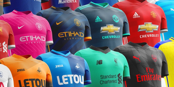 Here's a look at some of next seasons new Premier League kits