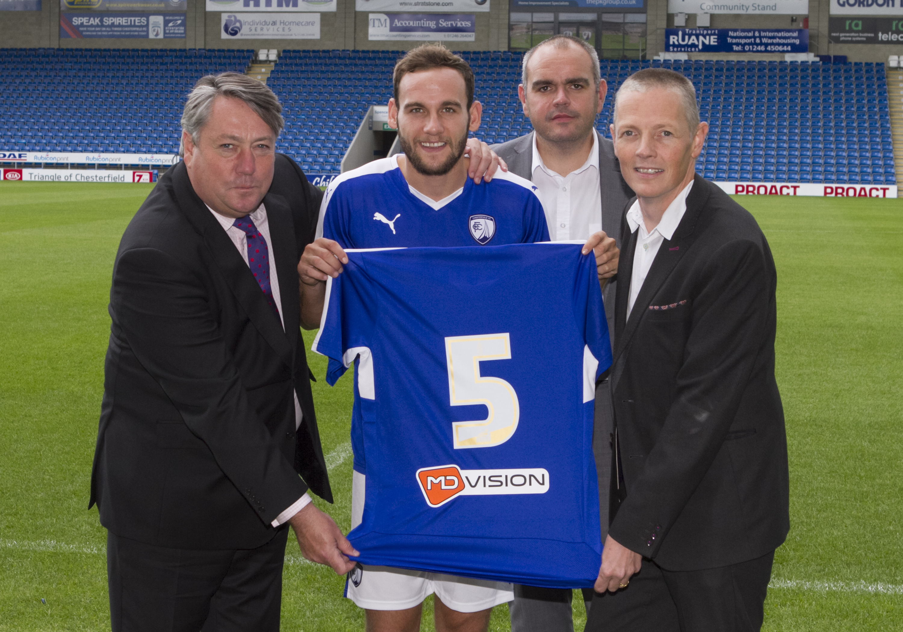 Chesterfield's press releases announcing their new signings are just brilliant