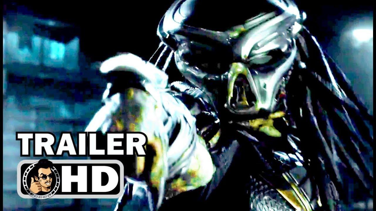 THE PREDATOR Official Trailer #1 (2018) Shane Black Sci-Fi