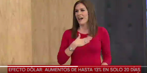 WATCH: Argentinian financial news channel goes into meltdown when Argentina score against Nigeria