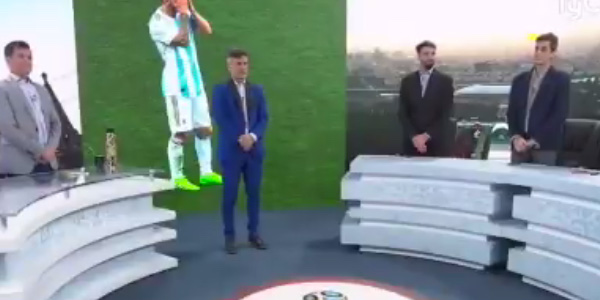 WATCH: Argentinian TV station holds minute silence after 3-0 defeat to Croatia