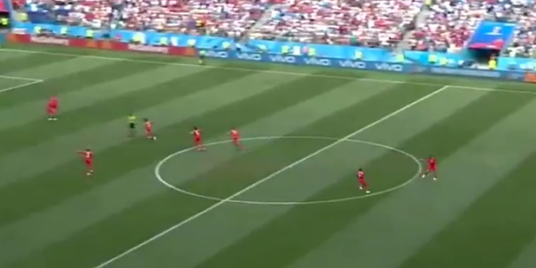 WATCH: Panama kick-off and try to score goal while England celebrate