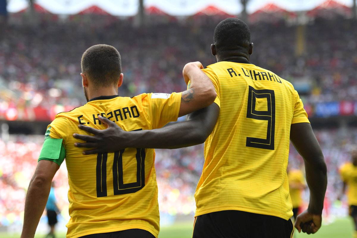 WATCH: Seven goal thriller sees Belgium top Group G after demolition of Tunisia