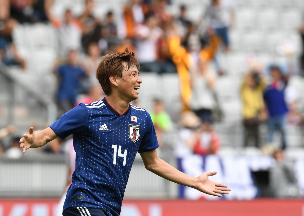 WATCH: Japan's Takashi Inui score beautifully curled goal to level things against Senegal