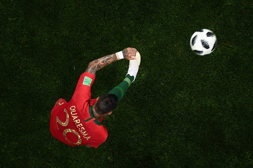 WATCH: Ricardo Quaresma scores outrageous outside-of-the-boot screamer against Iran