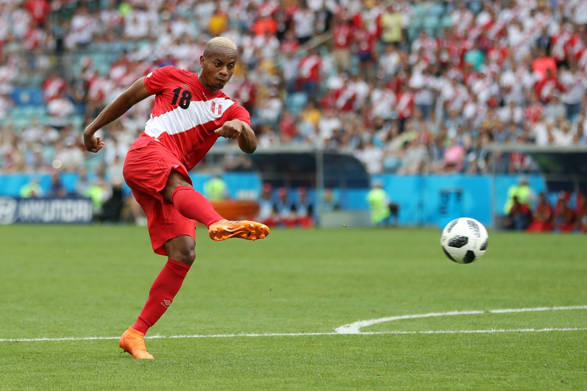 WATCH: Carillo scores exquisite volley to give Peru their first World Cup goal in 40 years