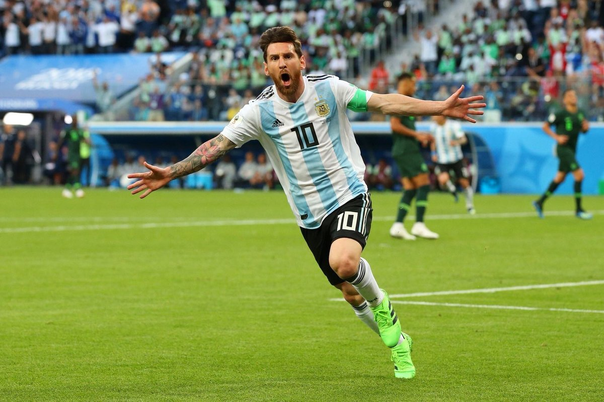 WATCH: Lionel Messi finally lights up the World Cup with supremely taken goal against Nigeria