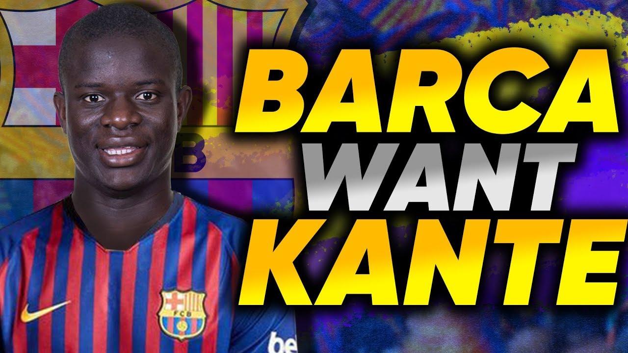 REVEALED: Barcelona Make N'Golo Kante Their Main Transfer Target