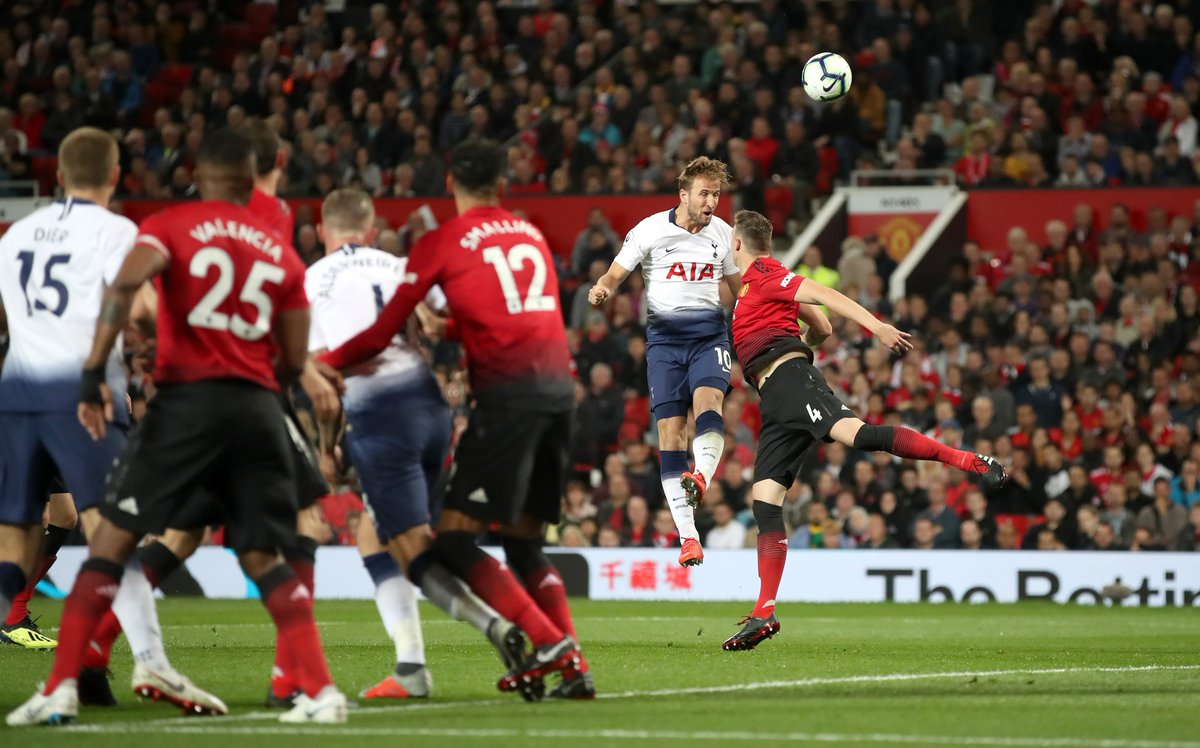 WATCH: Harry Kane stuns Old Trafford with sublime header