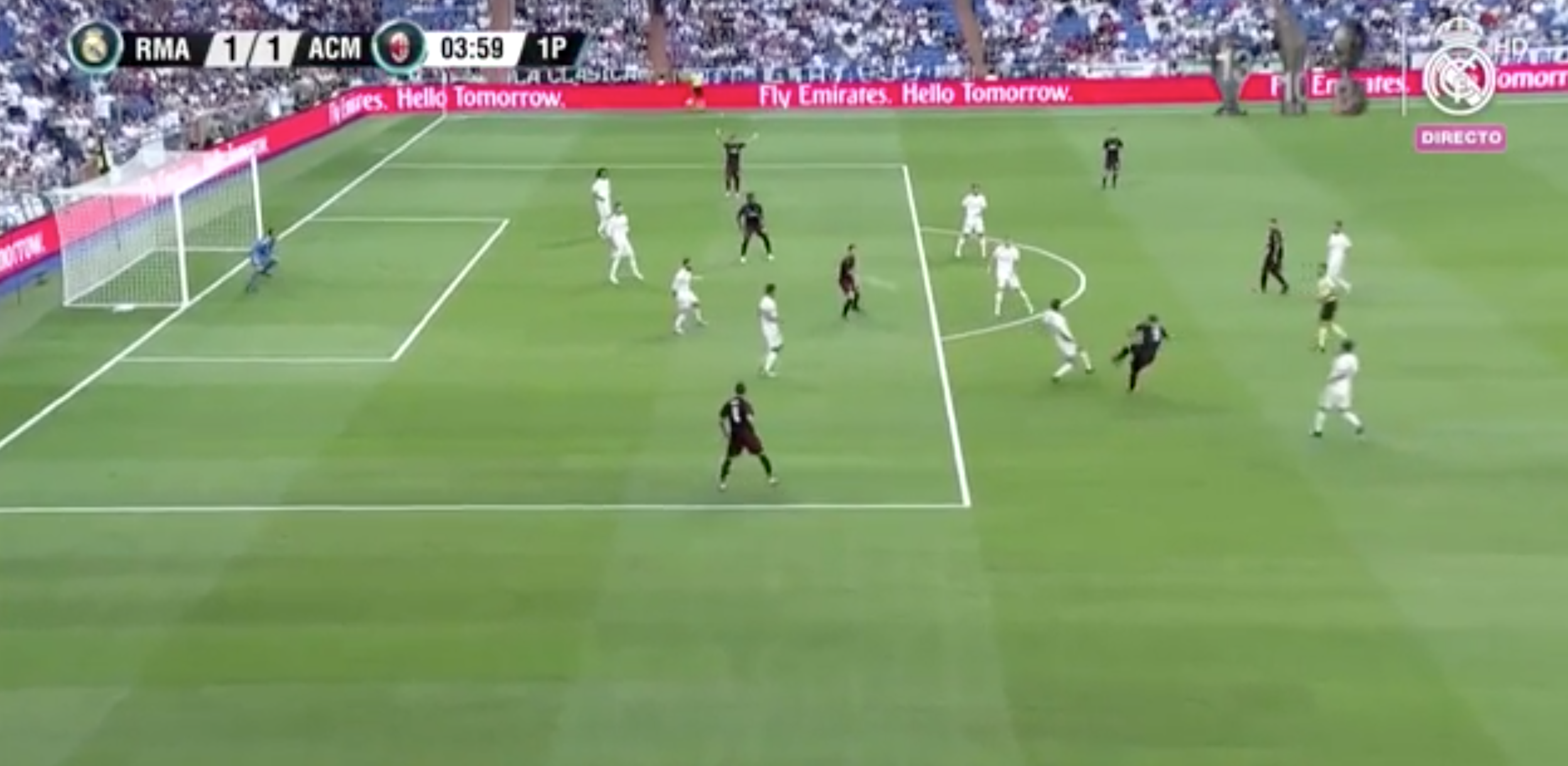 WATCH: 4 Minutes Into His AC Milan Debut Higuain Scores With His First Shot And It's A Cracker