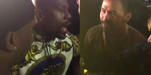 WATCH: Floyd Mayweather calls out Manny Pacquiao at concert