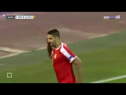 VIDEO: Aleksandar Mitrovic Serbian striker juggles the ball on the edge of the box before lashing the ball in! ?⚽