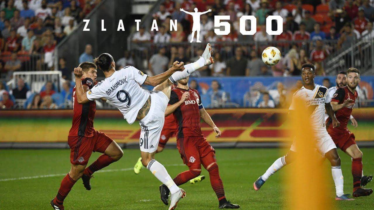 VIDEO: GOAL: Zlatan Ibrahimovic scores his 500th career goal in stunning fashion