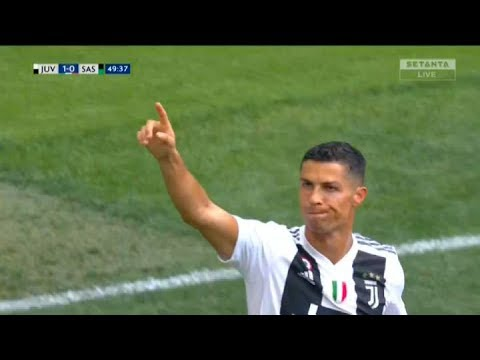 VIDEO: Ronaldo is Finally Off the Mark With Juventus