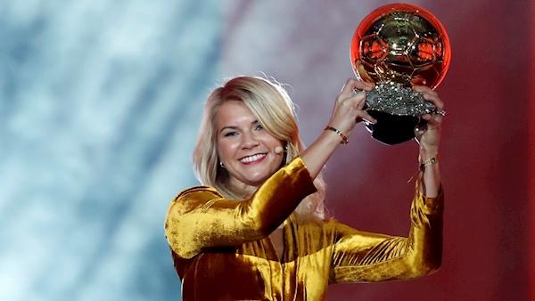 DJ apologises for asking Ballon d'Or winner Ada Hegerberg about twerking