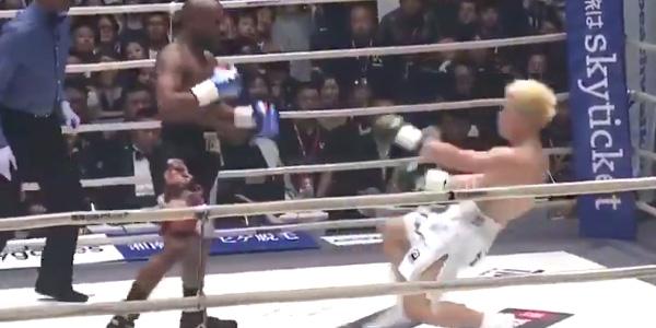 WATCH: Floyd Mayweather KOs Tenshin Nashukawa in $9m exhibition match