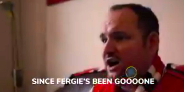 WATCH: Manchester United fan Andy Tate releases Christmas single