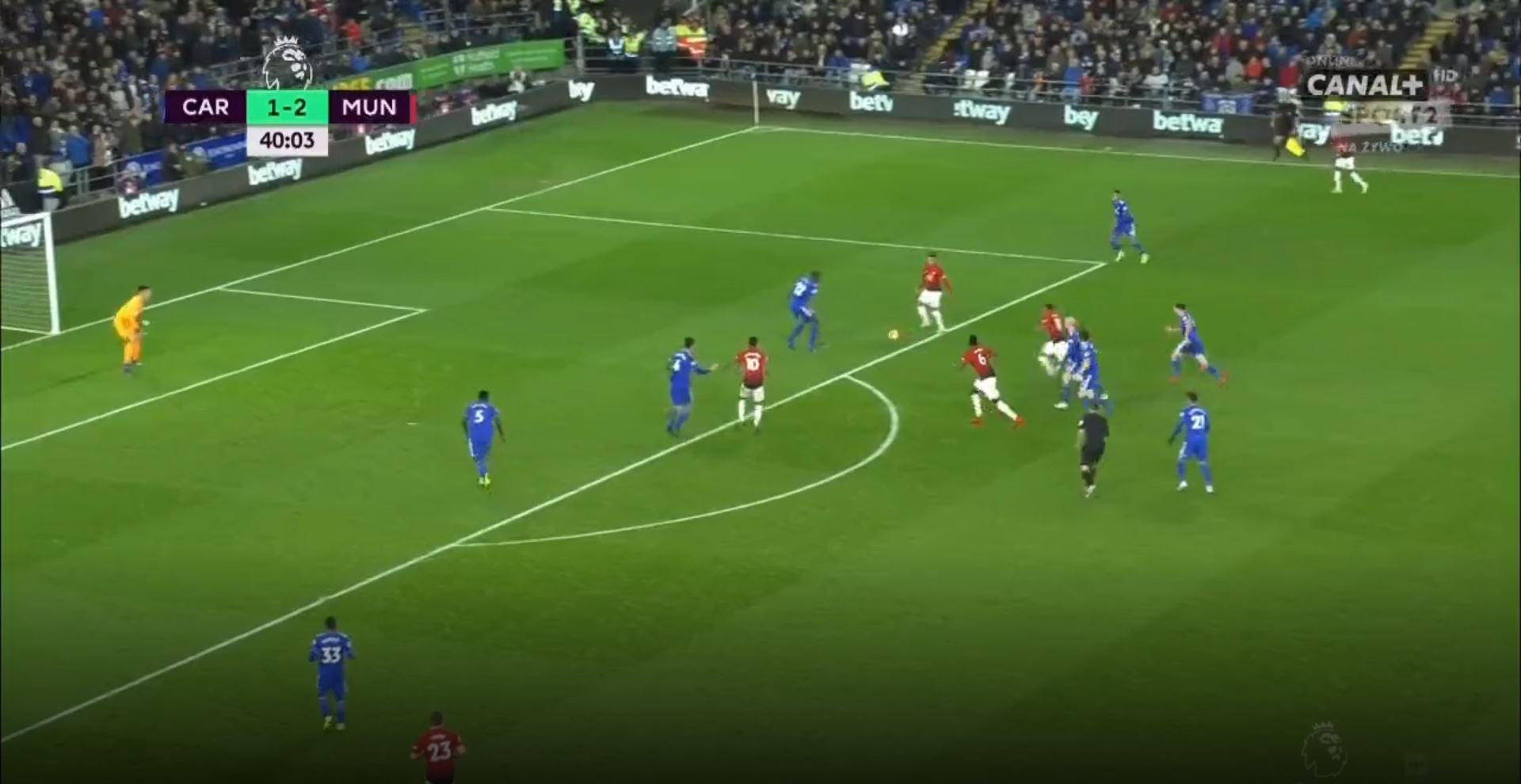 WATCH: Martial Scores After Beautiful Tika Taka Play From United