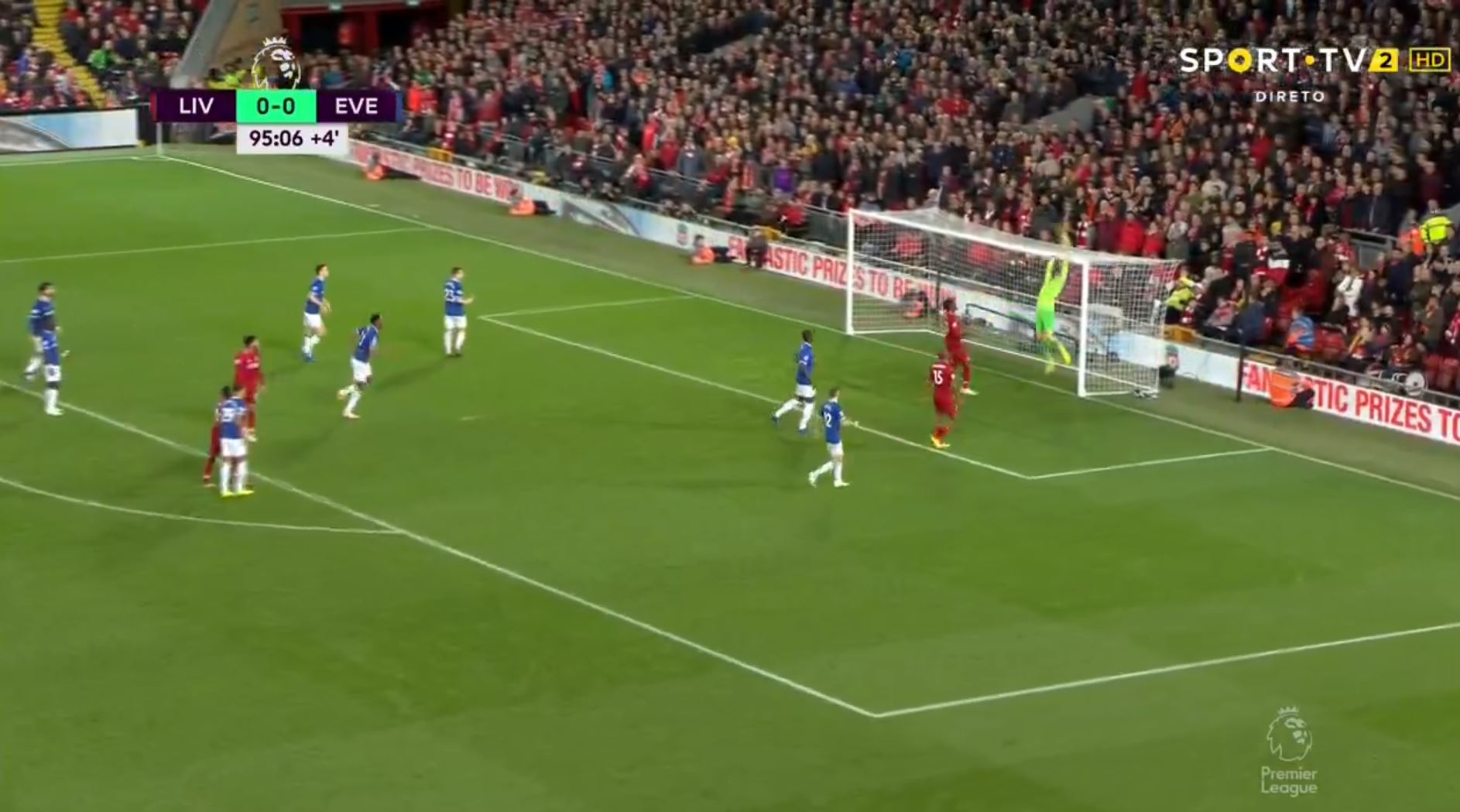 WATCH: Pickford With A Ridiculous 95′ Blunder To Give Liverpool The Win