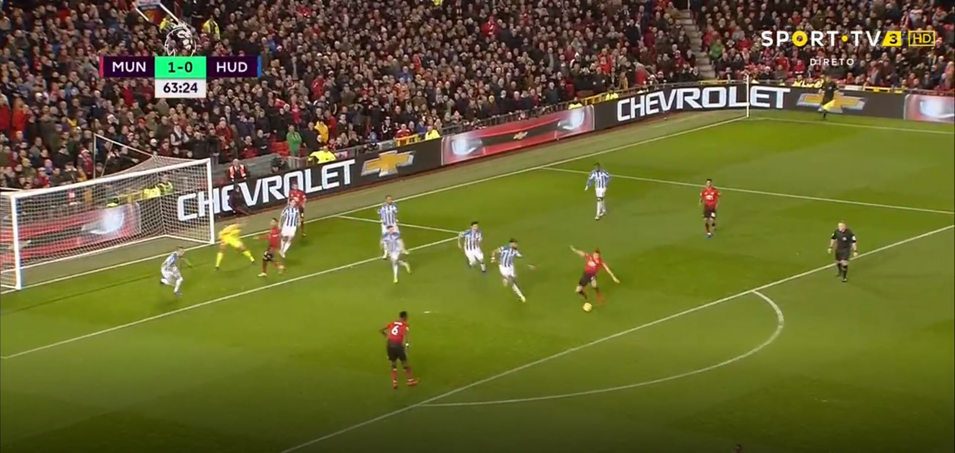 WATCH: Pogba Scores After Brilliant Team Play From United
