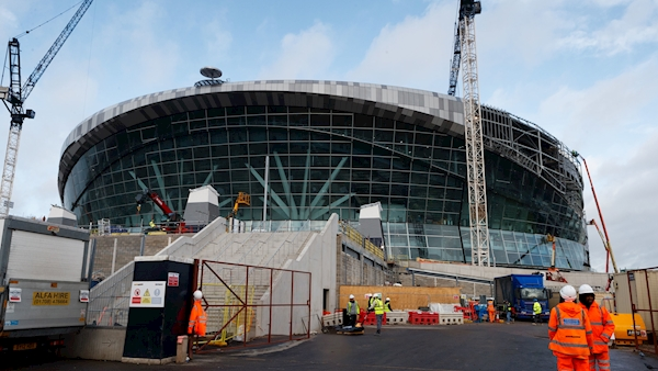Tottenham 'hugely frustrated' as stadium delayed once again