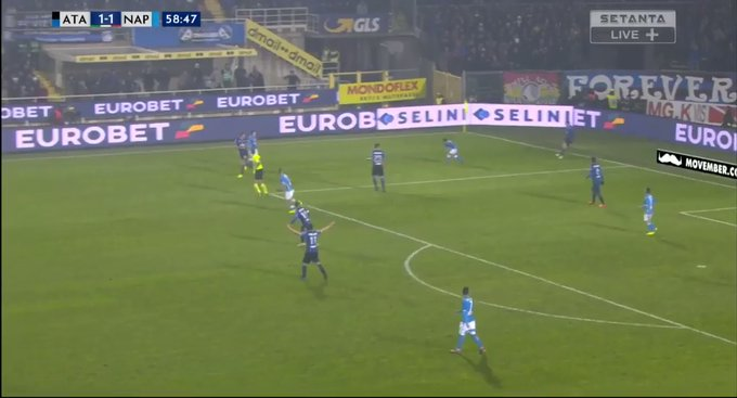 Video: Man United transfer target Koulibaly's amazing recovery run for Napoli against Atalanta