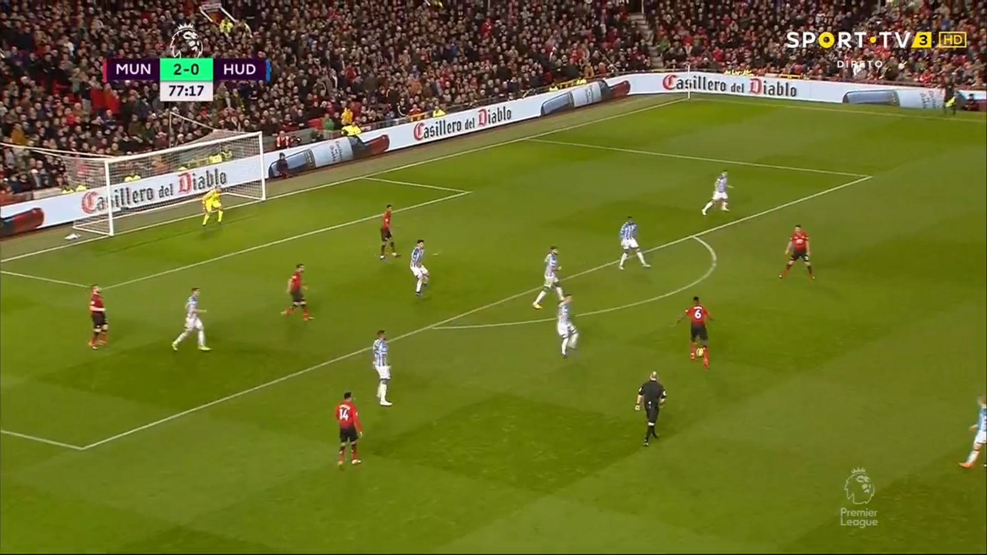 WATCH: Pogba Scored A Cracker From Outside The Box!