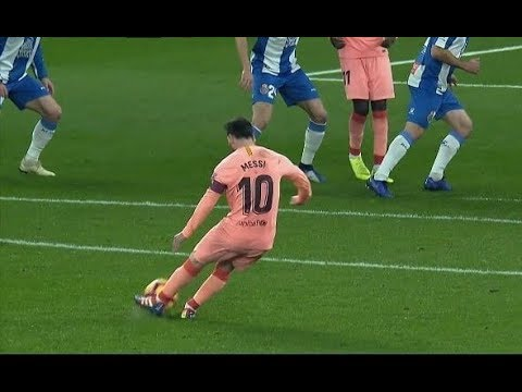 VIDEO: Leo Messi Amazing Free Kick Goal vs Espanyol HD