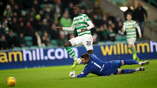 Timothy Weah grabs debut goal for Celtic in routine cup win