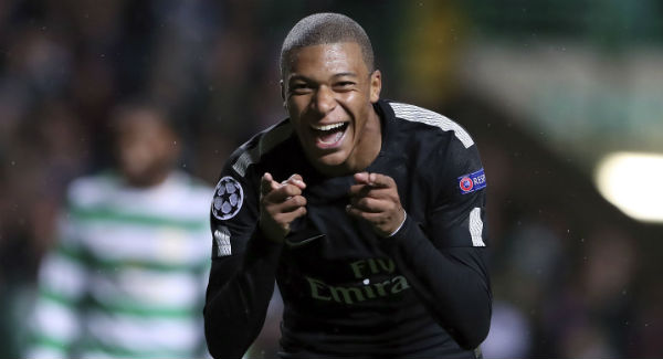 Kylian Mbappe ranked the world's most valuable footballer