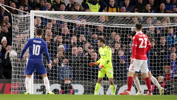 FA Cup 12.30 kick-off: FA Cup holders Chelsea sail through but Cardiff are stunned by Gillingham