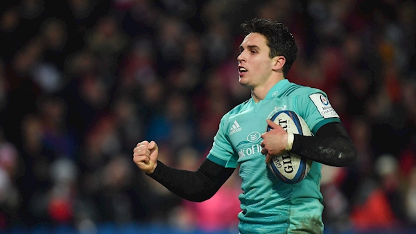 Joey Carbery gives a glimpse of his Munster future against Gloucester