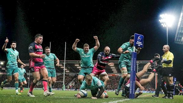 Munster 'have got to work hard' despite win over Gloucester