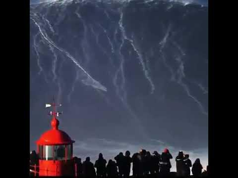 Brazilian surfer Rodrigo Koxa broke the world record for the highest wave ever surfed (82 feet)