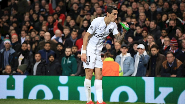 Man United could face probe after bottle thrown at Di Maria