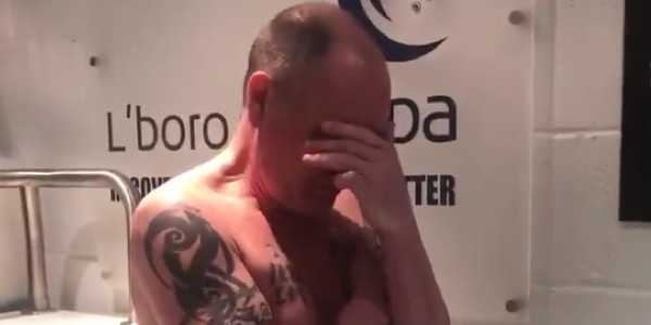 WATCH: Paul Gascoigne using cryopsa for the first time is the best thing you'll see today