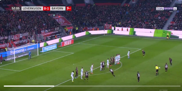 WATCH: Leon Bailey scores inch-perfect, long-range belter against Bayern