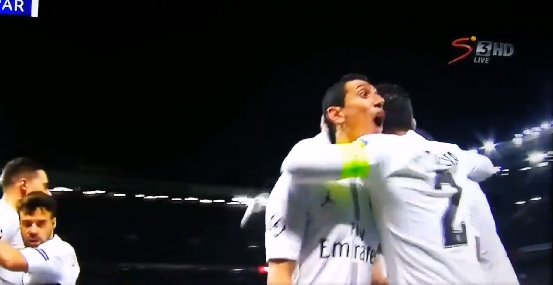 """WATCH: Di Maria Caught On Camera Telling Man Utd Fans To """"**** Off"""""""