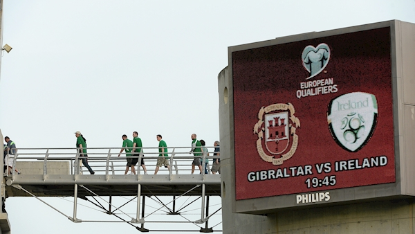 Gibraltar remove online ticket sales as 'real risk' of Irish fans purchasing home section allocation