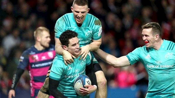 Carbery and Stander injuries hamper Munster's Champions Cup preperation
