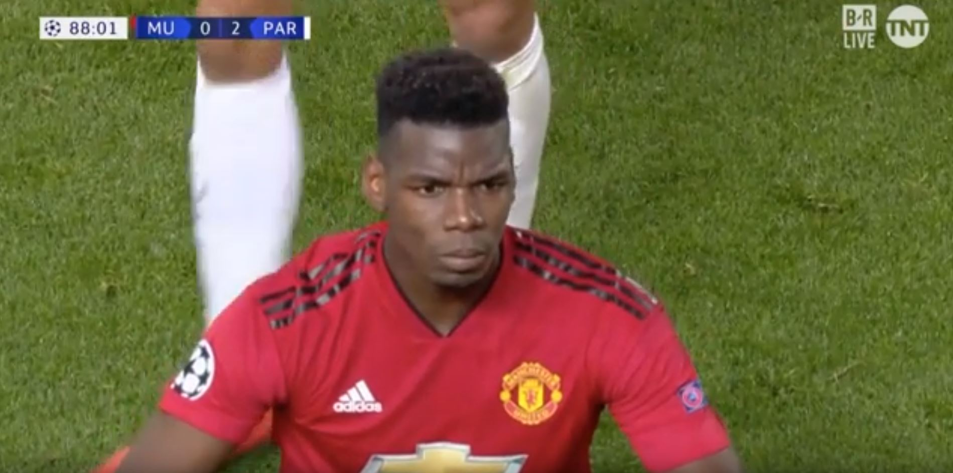 WATCH: Pogba Sent Off At The End Of The Game!